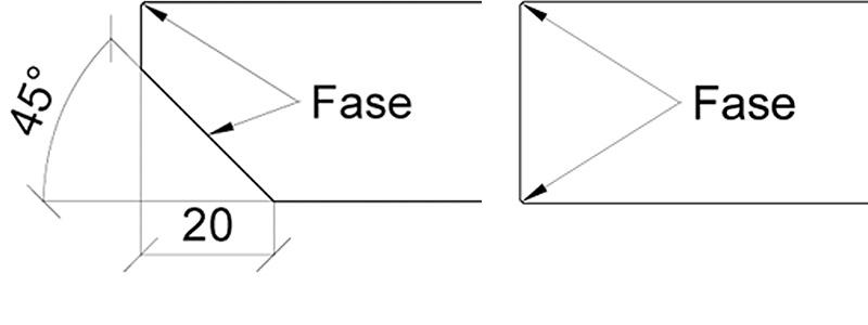 Schweizer Fase oder gerade mit leichter Fase