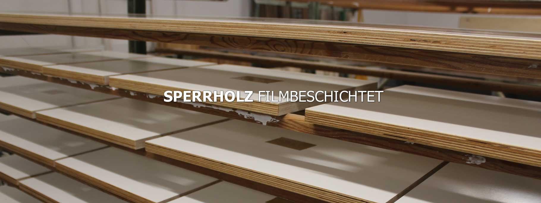 SPERRHOLZ/MULTIPLEX FILMBESCHICHTET