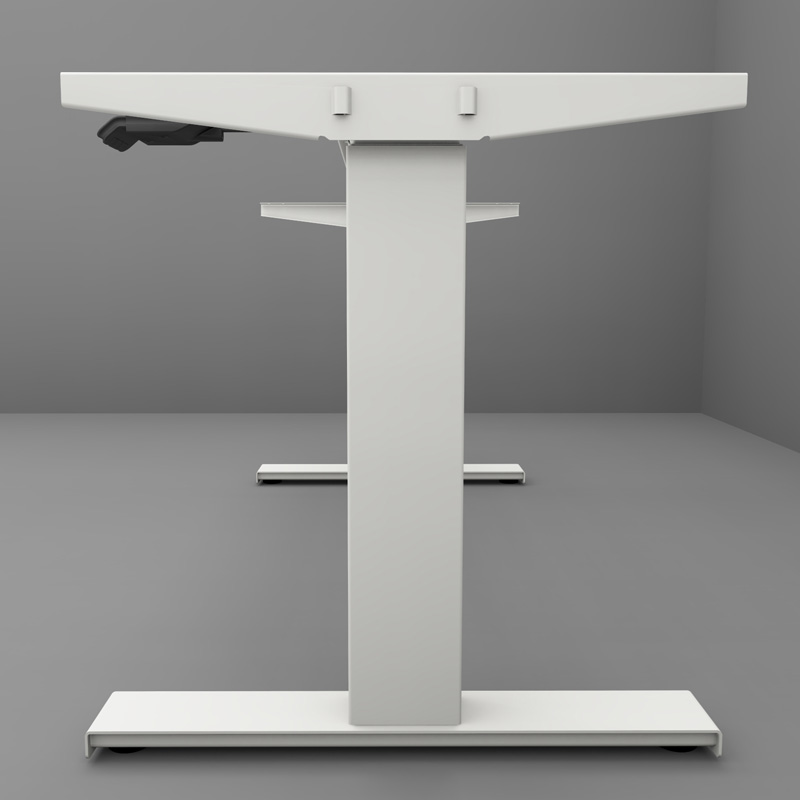 Tischgestell Woodvario in weiß
